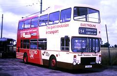 Slide 124-85 (Steve Guess) Tags: trolleybus museum sandtoft lincolnshire doncaster england dennis alexander electroline south yorkshire transport pte syt