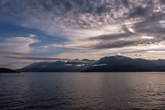 Morning Sky - Howe Sound (MIKOFOX ⌘ Will Be Deleted Soon!) Tags: canada waves showyourexif strait xt2 water islands mountains learnfromexif july landscape provia fujifilmxt2 summer mikofox britishcolumbia xf18135mmf3556rlmoiswr