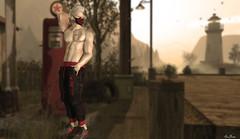 Stand Up Always At Sunset (MauMau_Yakusa) Tags: event man cave
