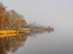 Loch Meiklie (Highlandscape) Tags: iainmacdiarmid highlandscape шотландия mist reflections outdoor rural scozia cold scoţia unitedkingdom highland glen cloud glenurquhart fog highlandscapezenfoliocom uk balnain schottland autumn olympus natural rocks drumnadrochit highlands ecosse water countryside hill beauty em5markii fall landscape colour loch trees november skotsko scotland sky skotland escocia weather lecosse škotska skottland lochmeiklie szkocja escócia yralban