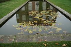 windows in the pond - explored (quietpurplehaze07) Tags: windowwednesdays reflections hampshire hintonampner nationaltrust pond hww explored