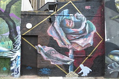 Airborne Mark graffiti, Camden (duncan) Tags: camden graffiti airbornemark origamiriots