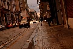Jazz (pcoradini) Tags: calle corrientes esquina catamarca rosario argentina ciudad provincia santa fe city avenue rainy day street shell bus urban life cotidiano vida urbano centro barrio distrito seat córdoba fiat dobló nikonflickraward