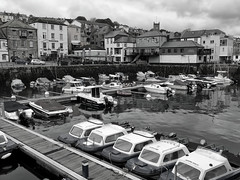 [boats] (RHiNO NEAL) Tags: black white boat sea harbour quayside coast rhino neal neil rhinoneal
