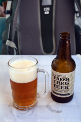 Chios artisanal beer (JohntheFinn) Tags: chios greece island europe freshchiosbeer houseale φρέσκιαμπύραχίου