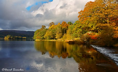 Colours of Grasmere (Dave Snowdon (Wipeout Dave)) Tags: davidsnowdonphotography canoneos1100d landscape lakedistrict lakedistrictnationalpark lakeland autumn fall water englishlakes grasmere reflections trees colours