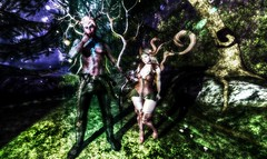 Forrest nymph couple (linpelazzi) Tags: astralia maitreya catwa p maline cc alchemy stealthic forrest nymph woodland lostunicorn heartcore fawny pinkfuel signature plastik clavv nc misfits
