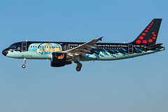 Brussels Airlines A320-214 OO-SNB (wapo84) Tags: belgianicons bru ebbr a320 oosnb brusselsairlines kuifje tintin