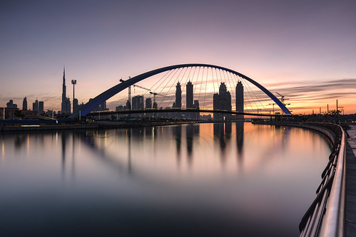 Sunrise @ Tolerance Bridge Dubai