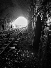 Refuge (Jason_Hood) Tags: disused abandoned railway railroad dudley dudleytunnel