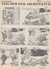 MAD Extra #12 / Seite 19 (micky the pixel) Tags: comics comic heft magazin satire humor bsv williamsverlag madextra mad alfredeneumann aljaffee architektur architekt bauarbeiter bauplan fliege fly
