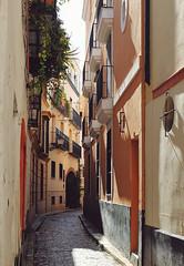 Sevilla, Spain (szeke) Tags: sevilla street buildng narrow cobblestone