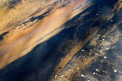 Sandy Beaches (katyearley) Tags: t6 rebel canon black grain brown yellow rocks beach sand