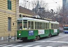 Torino, Via XX Settembre 14.01.2018 (The STB) Tags: tram tramway strassenbahn strasenbahn tranvía tranvia torino turin trasportopubblico publictransport citytransport öpnv
