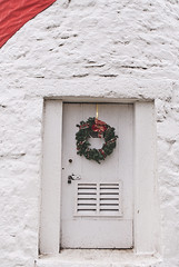 keeper's door (Katie's Cape) Tags: door white festive nautical christmas holidays holiday havre de grace lighthouse light house cute wreath ribbon