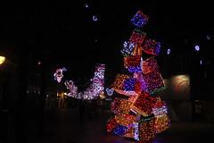 IMG_9875 (Benny Hünersen) Tags: kolding december 2018 jul christmas tree træ gågade pynt lys lights night nat nacht aften