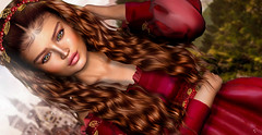 Prinessa (meriluu17) Tags: theskinnery lelutka sintiklia foxcity ersch princess queen castle madam lady red ladyinred royal legal ruby