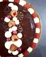 Tarte mousse chocolat-framboise (Claire Coopmans) Tags: