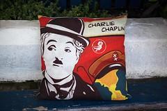 A Comfy Tramp (l plater) Tags: charliechaplin zeppelincafekitchen balmain sydney thetramp