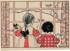 sijtje  Aafjes  Nieuwe oogst voor de kleintjes 1925, ill pg  40 (janwillemsen) Tags: sijtjaafjes bookillustration 1925 schoolbook childrensbook