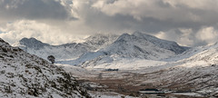 Winter In Snowdonia National Park (Rob Pitt) Tags: snowdonia snowdon capel curig north wales snow winter clouds sony a7rii landscape mountain sky mountainside road canon 70200 f4 l usm p