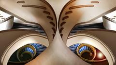 Gli occhi della farfalla (Roberto Macrì) Tags: scale fibonacci farfalla occhi lice light butterfly robertomacrì digital manipulation layers