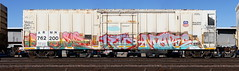 Shewp/More (quiet-silence) Tags: graffiti graff freight fr8 train railroad railcar art shewp more rtd railheads armn reefer unionpacific armn762200