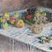 Monet fruits still life painting