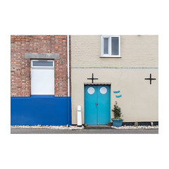 Nostra Jura (John Pettigrew) Tags: lines tamron d750 nikon doors abstract windows colour documentary plant imanoot angles walls topographics space gorleston bollards norfolk documenting johnpettigrew
