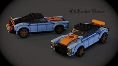 Ch-Forslyer Bruiser (Fictitious Pasta) Tags: scale car lego legobuild legocar legotoys legophotography build blenderrender blender mecabricks