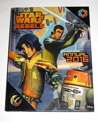 star wars rebels annual 2016 egmont uk limited 2015 book a (tjparkside) Tags: star wars rebels annual 2016 book books ezra bridger kanan jarrus chopper c110p c1 10p droid droids tie fighter lightsaber lightsabers stormtrooper stormtroopers agent kallus egmont uk limited 2015 disney lucasfilm story stories trivia puzzle puzzles game games isbn 9781405278003