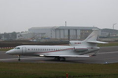 Government of Monaco Dassault Falcon 8X 3A-MGA, departure CBG (robertetienne) Tags: governmentofmonaco dassault falcon 8x cambridgeairport 3amga aircraft airplanes jets aviation