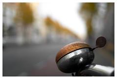 Autumn colours (leo.roos) Tags: badhuisstraat vlissingen fietsbel bicyclebell bike rust roest fiets zeeland walcheren fedmikron фэдмикрон helios893019 russianlens sovietglass fixedlens darosa leoroos vastelens adaptedtoemount a7s