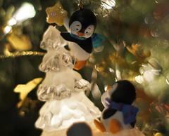 Holiday Balance (ironicdream) Tags: macromonday balance holiday macro bokeh christmas ornament vintageprimes minolta 50mm lookingcloseonfriday christmasdecorations