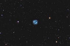 NGC 151 4 - The Crystall Ball Nebula (Peter Goodhew) Tags: taurus nebula planetarynebula ngc1514 crystalballnebula astrometrydotnet:id=nova3120645 astrometrydotnet:status=solved