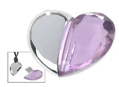Cool Crystal Heart Pen Drive For All (mywowstuff) Tags: gifts gadgets cool family friends funny shopping men women kids home