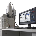 走査電子顕微鏡の写真
