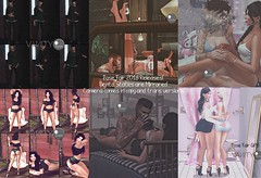 Pose Fair 2018 Collage (V ♪) Tags: vanityposes vp posefair bentoposes freegift virtualworld secondlife 3d