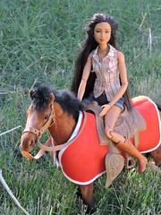 Native Spirit (~EverFashionista216~) Tags: barbie dolls ravenhair native american collector mattel black label etsy necklace horse spirit earth goddessfacemold dollsoftheworld fashionistas boho fashion jewerly tribal made move
