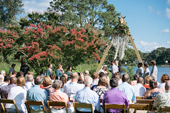 The Wedding of Rachel and Zachary (Tony Weeg Photography) Tags: weddings wedding zachary rachel ward marshall warshall 2018 tony weeg riverside riverbank river wicomico backyard fun lovebirds vikings viking skol