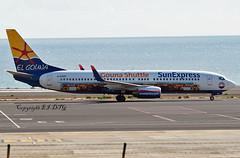 Boeing 737-8HX D-ASXP Sun Express Germany (EI-DTG) Tags: fuerteventura fue 29oct2018 b737 boeing737 sunexpress dasxp