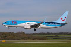 TUI - Boeing 737-8K5/W G-TAWO @ Cardiff (Shaun Grist) Tags: gtawo tui boeing 737 shaungrist landing 30 cwl egff cardiff cardiffairport cardiffrhoose rhoose wales airport aircraft aviation aeroplanes airline avgeek