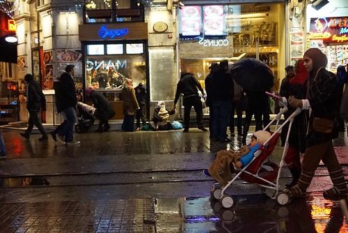 Istiklal Street, Istanbul, Turkey