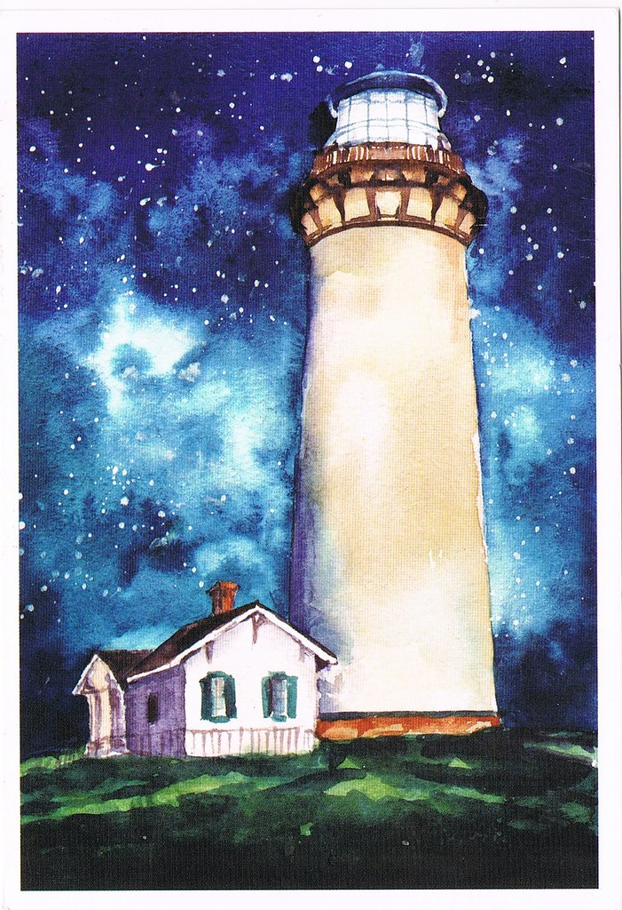 The World's newest photos of lighthouse and painting