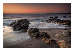 Time and Tide (ianrwmccracken) Tags: horizon rock d750 landscape water dawn morning nikon nikkor2470mmf28 sky sea shore seaweed pathheadsands fife scotland tide hitech pink ndgrad wave riverforth kirkcaldy beach texture formatt sand