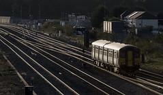 Homeward Bound (powern56) Tags: wales southwales gwent rogiet severntunneljunctionstation gwr greatwesternrailway dmu 150266 backlight passengertrain railway class150 dieselmultipleunit