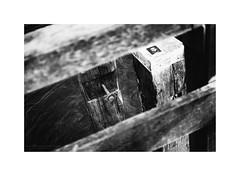 Timmendorfer Strand VI (Passie13(Ines van Megen-Thijssen)) Tags: deutschland timmendorferstrand blackandwhite bw sw zw zwartwit monochroom monochrome monochrom pier fujifilm x100f inesvanmegen inesvanmegenthijssen