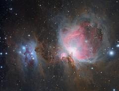 M42 Orion nebula (Waskogm) Tags: astrofotografija astrophotography serbia srbija nostromo gornji milanovac opservatorija observatory maksutov newtonian mn mn190 maksutovnewtonian mak newt maknewt azeq6 cassegrain astronomija astronomsko drustvo aristarh teleskop astronomy telescope astronomskodrustvo opservatory aristarchus svemir space universe univerzum nebula nebulosity maglina maglica orion great m42 m43 sh2279 nature dark night stars