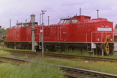 DB 298086-0 (bobbyblack51) Tags: db class 298 dr 108 lew bb heavy diesel shunter 2980860 bw seddin 2001