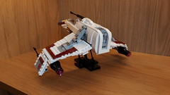 E-Wing - Build Update (Moppo!) Tags: star wars ewing new republic lego rebel alliance